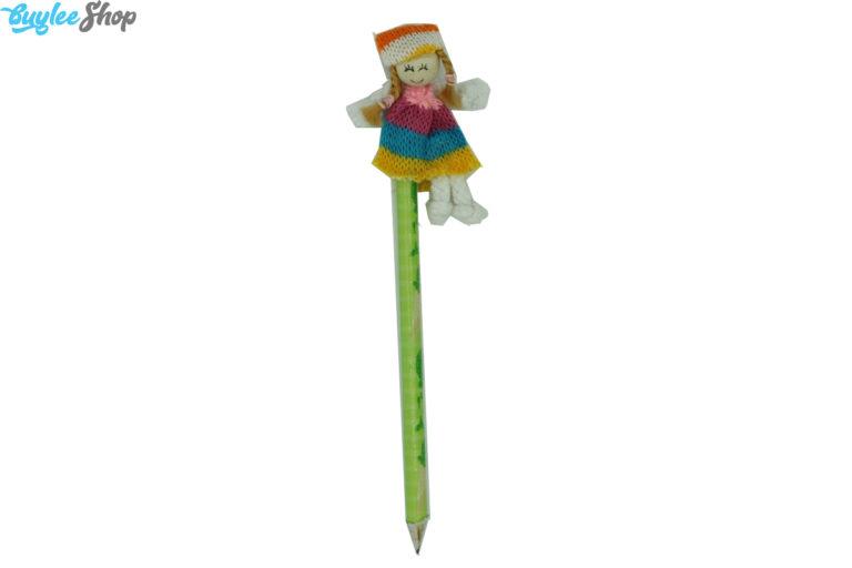 مداد با سرمدادی عروسکی بافتنی