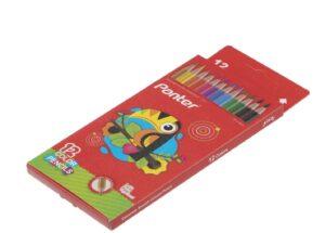مداد رنگی 12 رنگ پنتر جعبه مقوایی