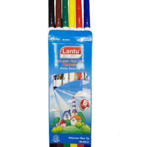 ماژیک رنگ آمیزی 6 رنگ لانتو JM4506