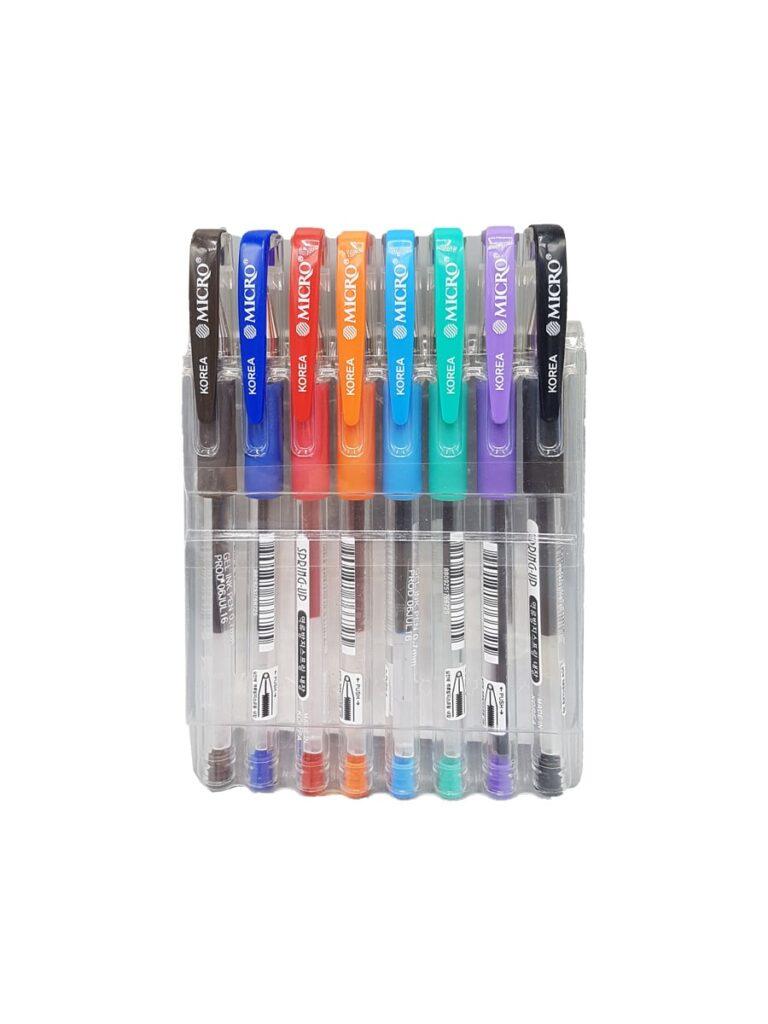 خودکار 8 رنگ میکرو