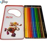 مداد رنگی 12 رنگ فکتیس فلزی