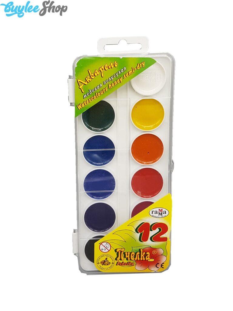 آبرنگ 12 رنگ راما