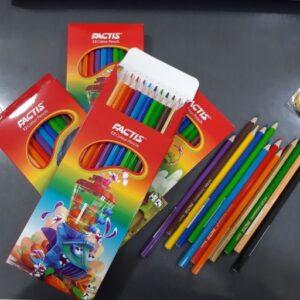 مداد رنگی 12 رنگ فکتیس