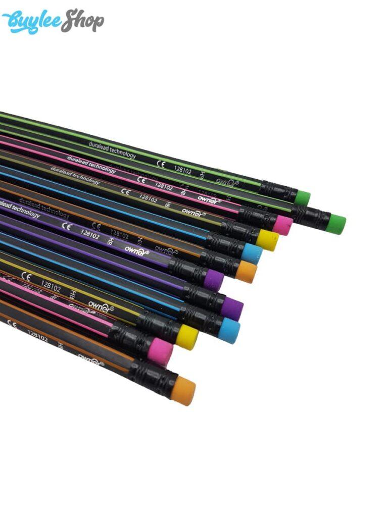 مداد مشکی اونر Duralead Technology کد 128102 بسته 12 عددی