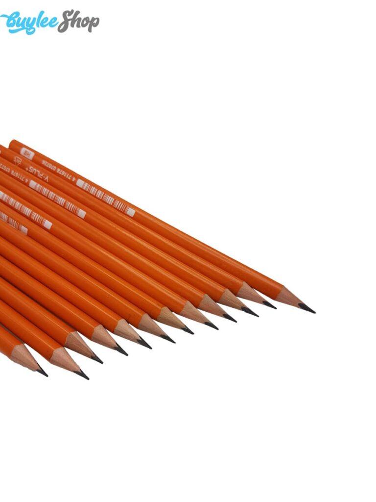 مداد مشکی اینوکس سری Y.Plus مدل Dot بسته 12 عددی