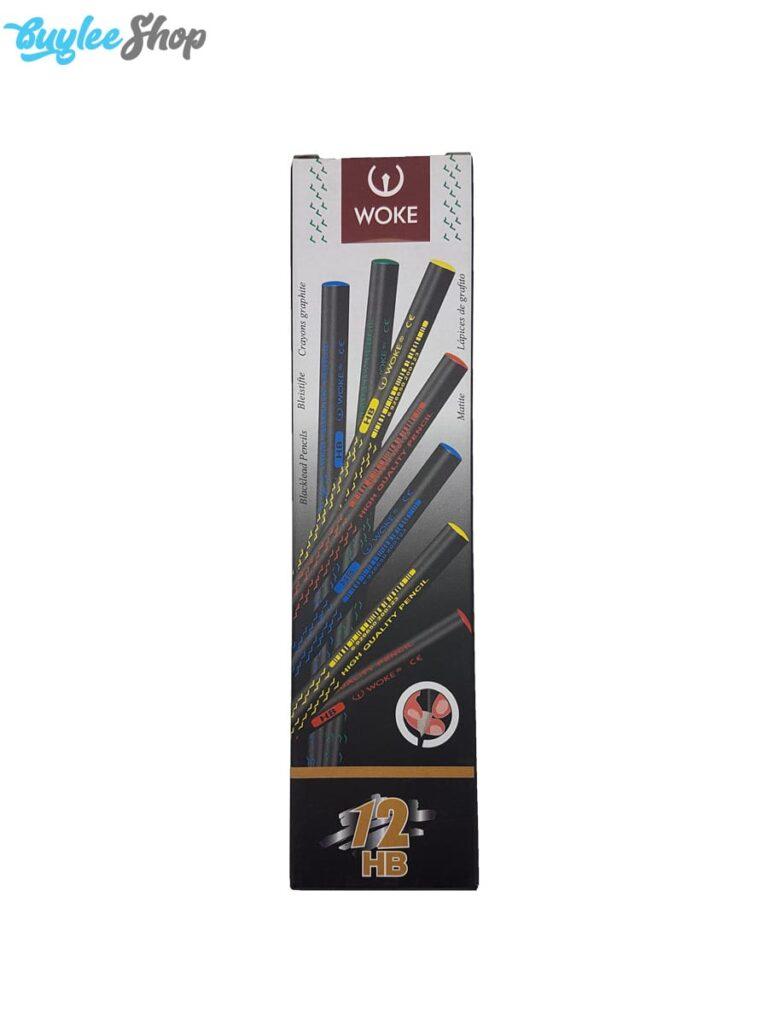 مداد مشکی وک بسته 12 عددی