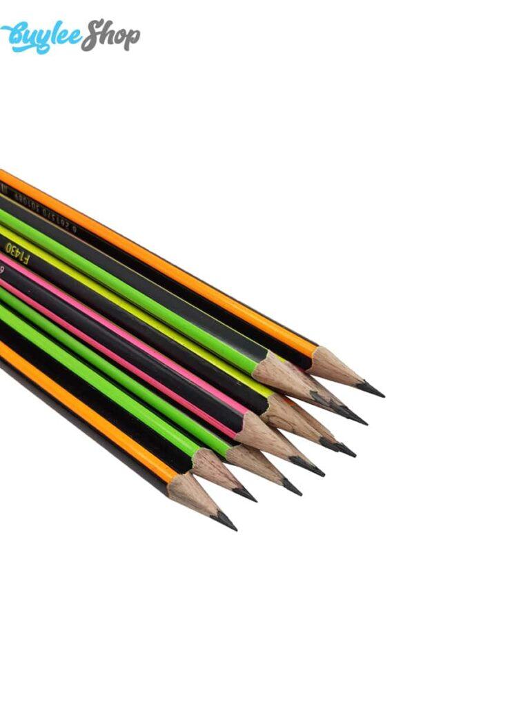 مداد مشکی فکتیس مدل Tirix بسته 12 عددی