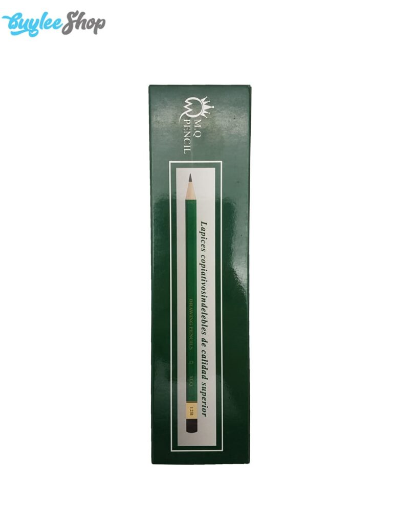 مداد طراحی 12B ام کیو M.Q drawing pencils
