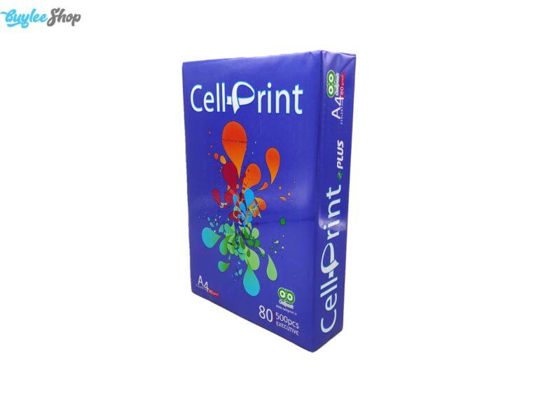 کاغذ A4 سل پرینت Cell Print بسته 500 عددی