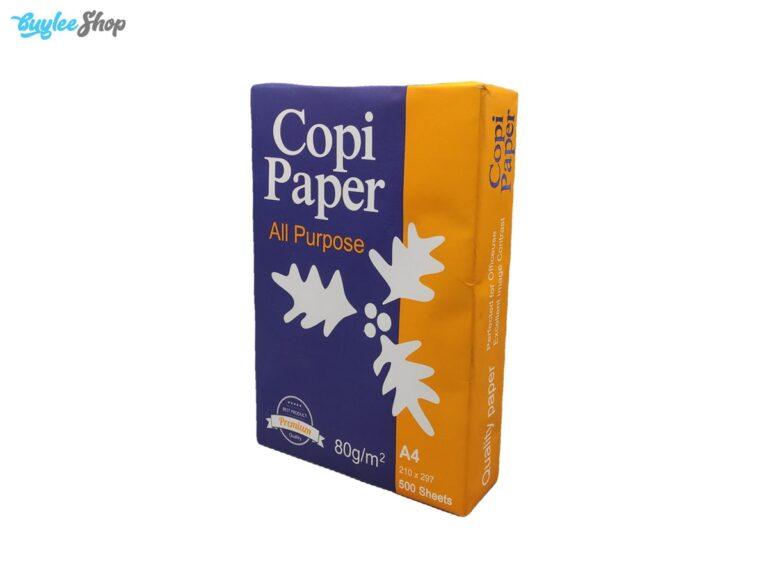کاغذ A4 کپی پیپر Copi Paper بسته 500 عددی