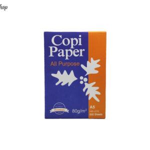 کاغذ A5 کپی پیپر Copi Paper بسته 500 عددی