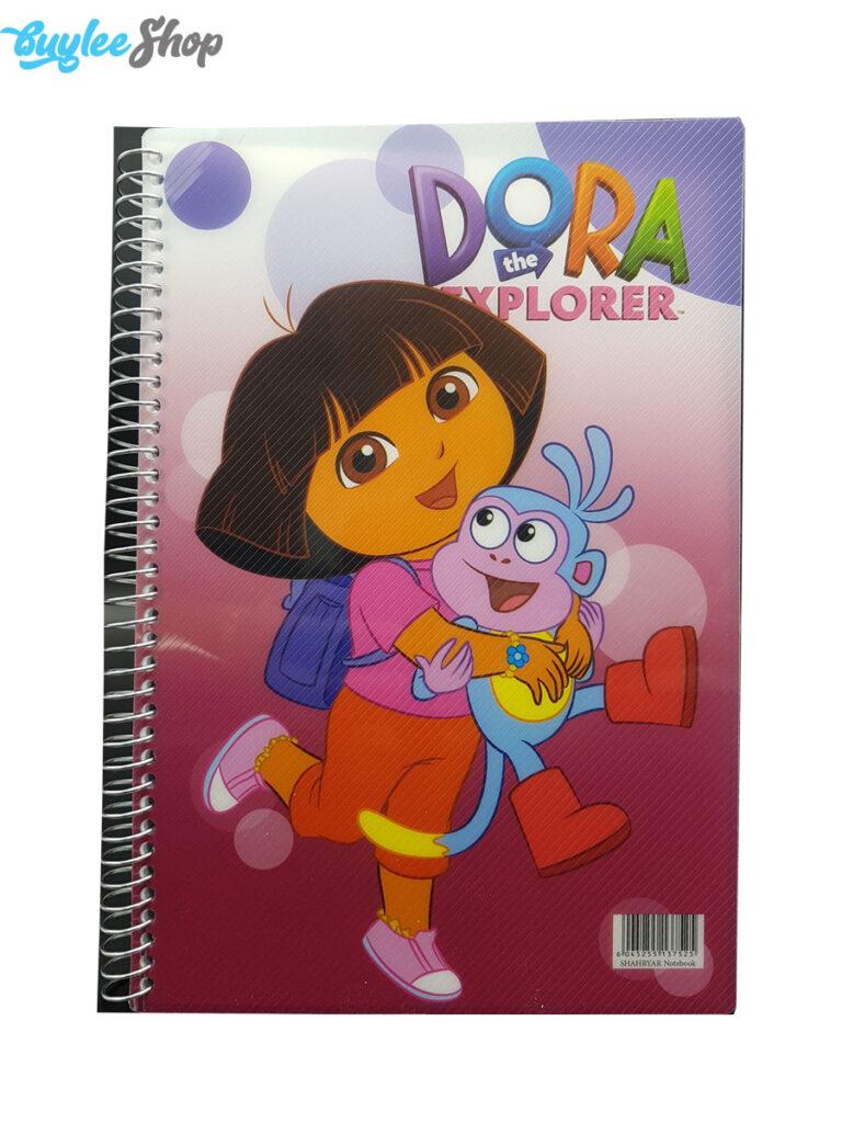 دفتر 100 برگ شهریار طرح دورا Dora
