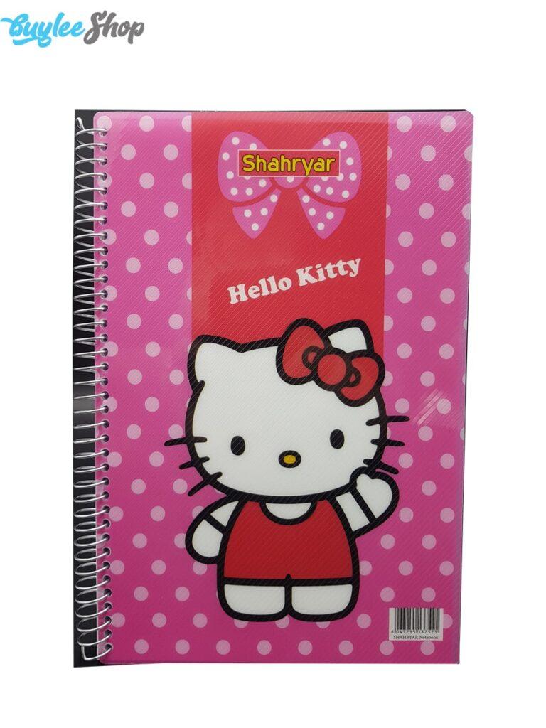 دفتر 100 برگ شهریار طرح کیتی Kitty