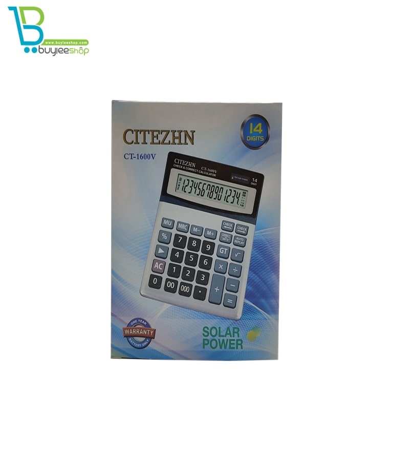 ماشین حساب سیتیژن مدل CT-1600V